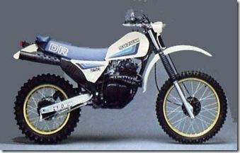 Suzuki DR250 82
