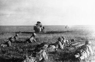 Japanese Machine Gun Team July 1939 Fighting Against Soviet Union