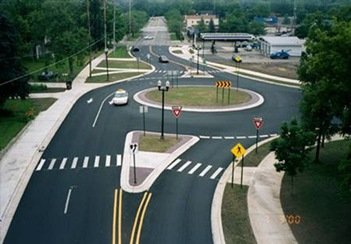 funky roundabout