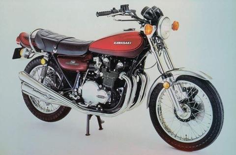 Kawasaki Z750 73  1