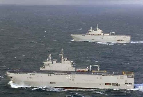 mistral-warships