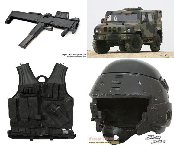 Linmas Enforced Gears, Perlengkapan Paramiliter Linmas bila Negara dalam Kondisi Perang. (Magpull FPG- Iveco LMV- Rothco Tactical Vest- M3 Tactical Helmet)